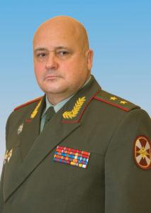 Командующий СЗО ВНГ РФ генерал-лейтенант Сергей Викторович Захаркин